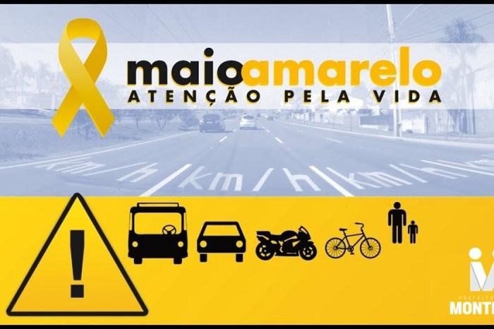 MAIO AMARELO: Secretaria de Saúde de Monteiro destaca a importância da prevenção aos acidentes de trânsito
