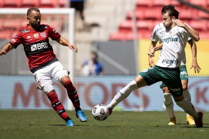 Flamengo e Palmeiras reeditam a Supercopa na estreia do Brasileirão