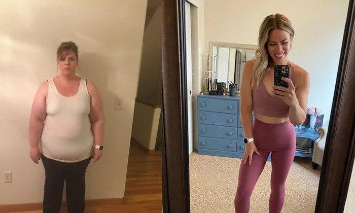 Mulher perde 68 quilos após ser chamada de gorda pelo pai