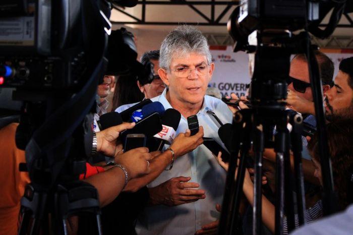 Ministério Público Federal recorre contra decisão de enviar processo de Ricardo Coutinho para justiça eleitoral