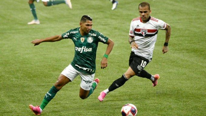Palmeiras e São Paulo empatam sem gols no primeiro jogo da decisão do Paulista