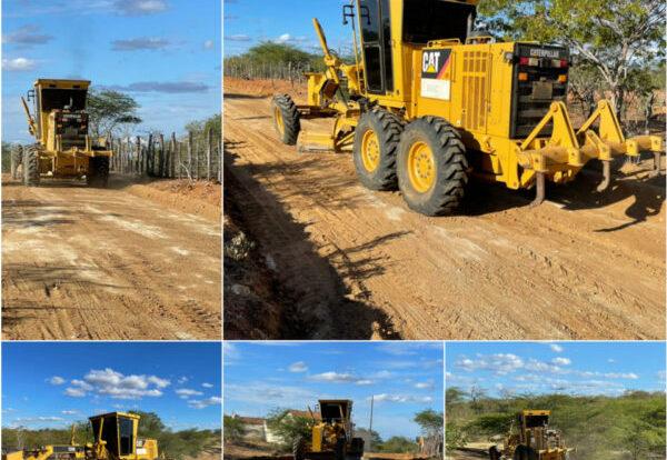 Prefeitura de Coxixola inicia programa de recuperação das estradas vicinais do município