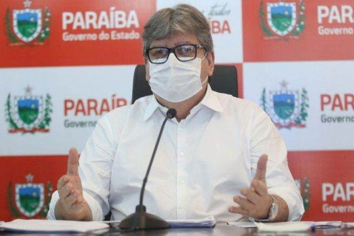Com o avanço da vacinação, governador João Azevêdo espera não precisar de mais medidas restritivas nos próximos decretos