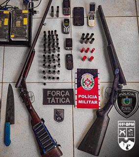 Dupla suspeita de assassinato em Ouro Velho é presa pela polícia no Pernambuco