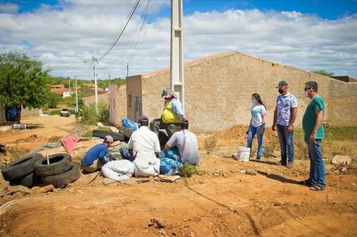 Prefeitura do Congo inicia obra de pavimentação da rua Projetada