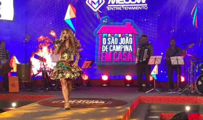 Live d'O Maior São João do Mundo terá Elba Ramalho e Juliette, nesta quarta-feira