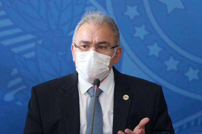 Ministro da Saúde lamenta 500 mil mortes por Covid-19 no Brasil