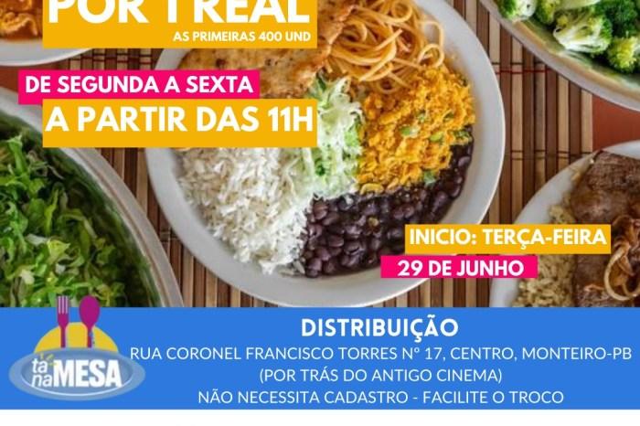 Prefeita Anna Lorena comemora início do programa Tá Na Mesa e parabeniza o governador João Azevêdo