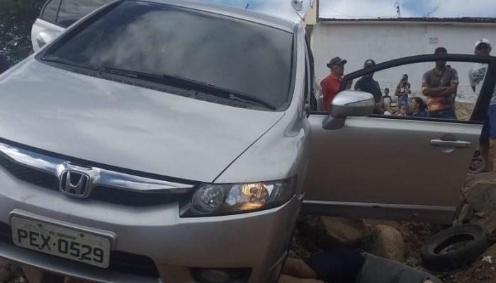 Monteirense é executado em Jataúba-PE; veículo usado por criminosos é encontrado