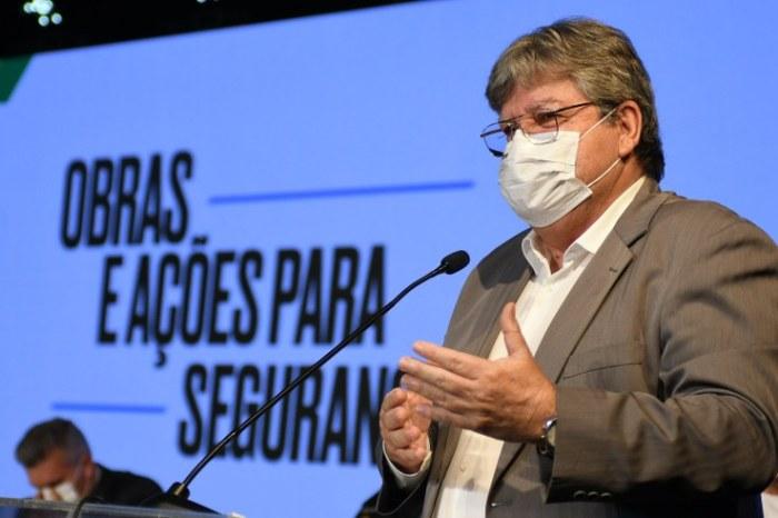 João Azevêdo anuncia ações para modernizar ainda mais Segurança Pública do Estado