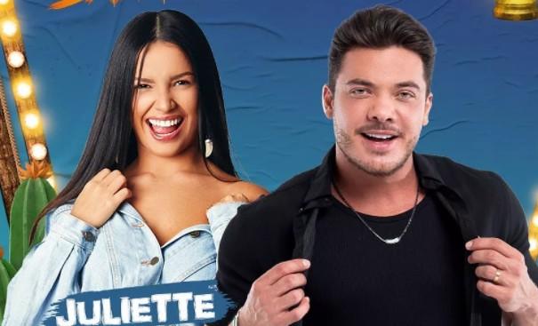 DIA 19 DE JUNHO: Juliette participa da live de Wesley Safadão no São João de Campina Grande