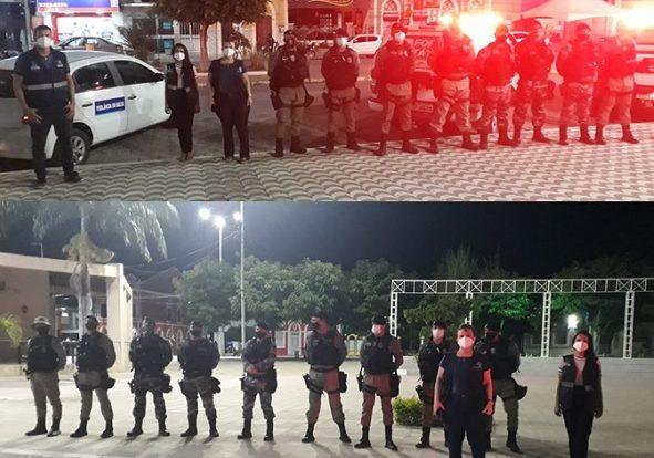 Em cumprimento ao novo decreto, Vigilância Sanitária e Polícia Militar intensificam fiscalização em Monteiro