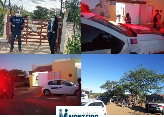 Operação Covid-19: Vigilância Sanitária e PM realizam fiscalizações durante final de semana em Monteiro
