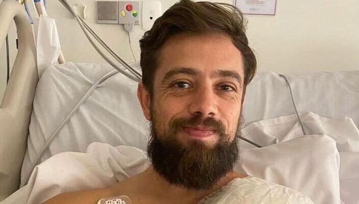 Rafael Cardoso passa por cirurgia no coração para evitar morte súbita