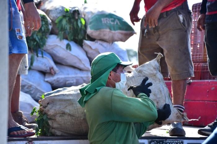 Governo distribuiu mais de 200 toneladas de alimentos em várias regiões do Estado no mês de maio