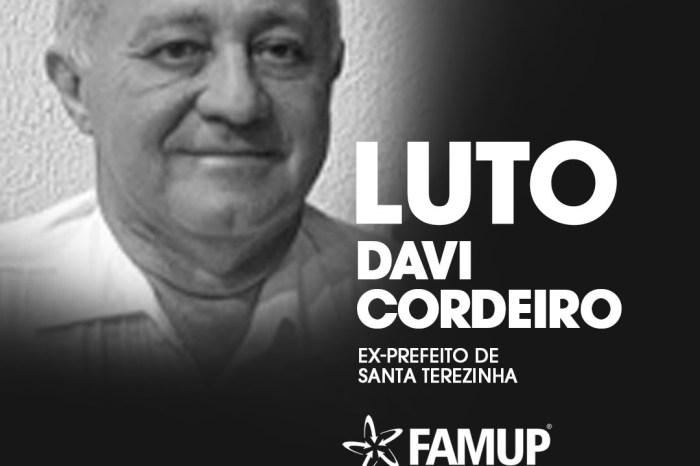 Famup lamenta morte de ex-prefeito de Santa Terezinha, David Cordeiro