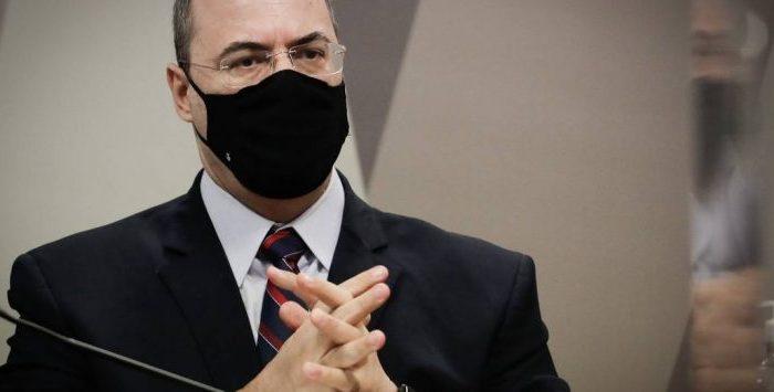 Witzel mira Bolsonaro, fala em perseguição após prisão no caso Marielle e deixa CPI antes do fim da sessão