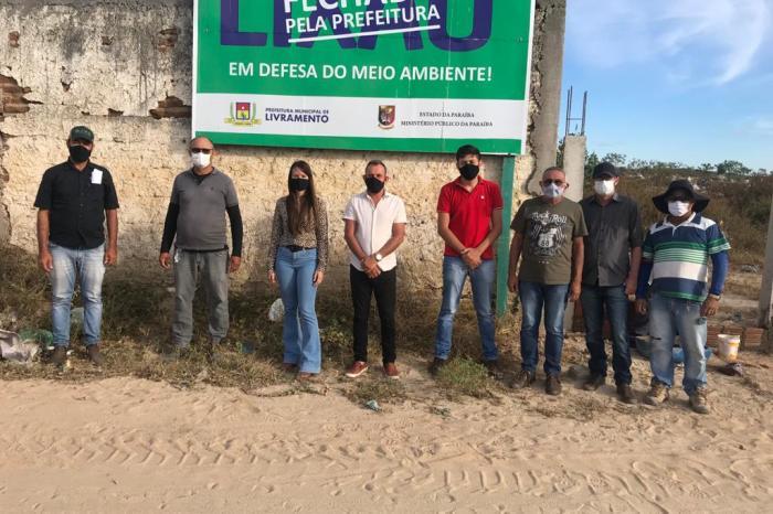 Cidade caririzeira forma equipe para iniciar a execução do Plano de Recuperação de Área Degradada