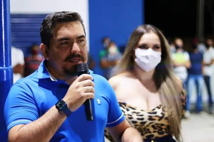 Em Coxixola, prefeito Nelsinho Honorato inaugura praça na comunidade rural Serrote Apertado