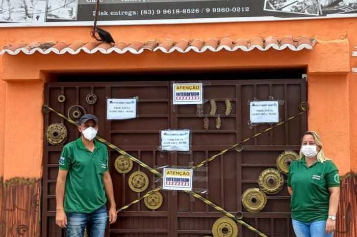 Após repercussão negativa, bar e restaurante é interditado por aglomeração em Sumé