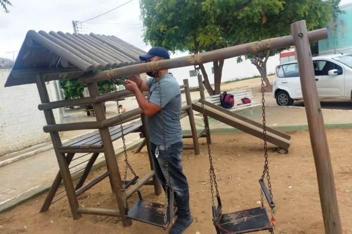 Monteiro: Atos de vandalismo deterioram espaços públicos e Prefeitura pede ajuda