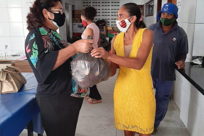 Secretaria de Assistência Social faz entrega de produtos da agricultura familiar através PAA