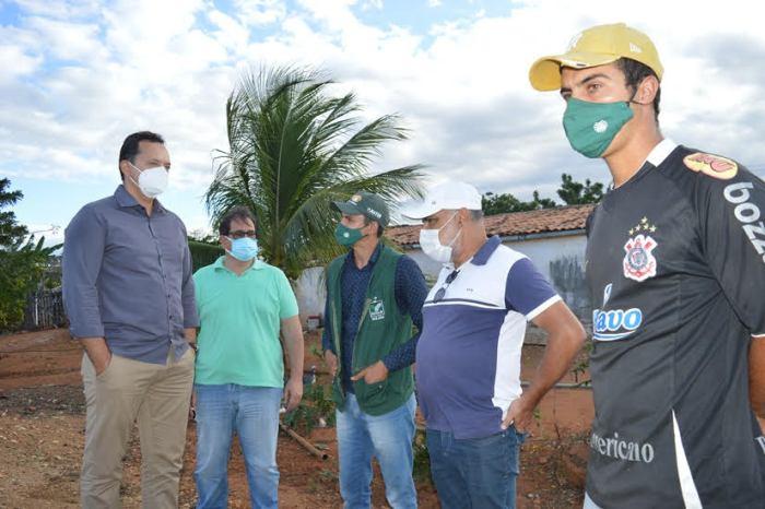 Prefeito Éden acompanha visita técnica do SENAR a produtores rurais