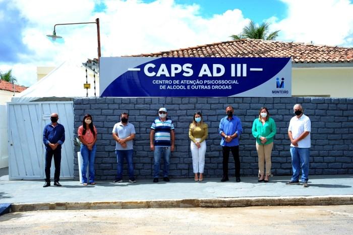 Secretaria de Saúde de Monteiro apresenta novas instalações do CAP AD III