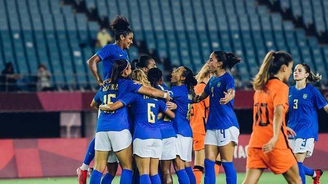 Em jogo de seis gols, Brasil e Holanda ficam no empate nas Olímpiadas