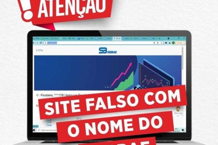 Sebrae alerta para a criação de site falso utilizando o nome da instituição