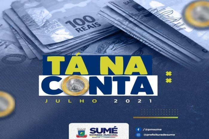 Prefeitura de Sumé começa a pagar o mês de julho aos servidores