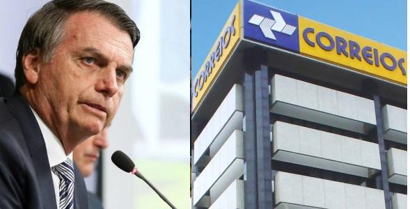 Governo Bolsonaro decide vender 100% dos Correios
