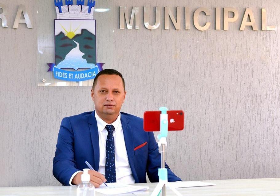 MOÍDOS DA REDAÇÃO: Presidente da Câmara de Monteiro testa positivo para Covid-19