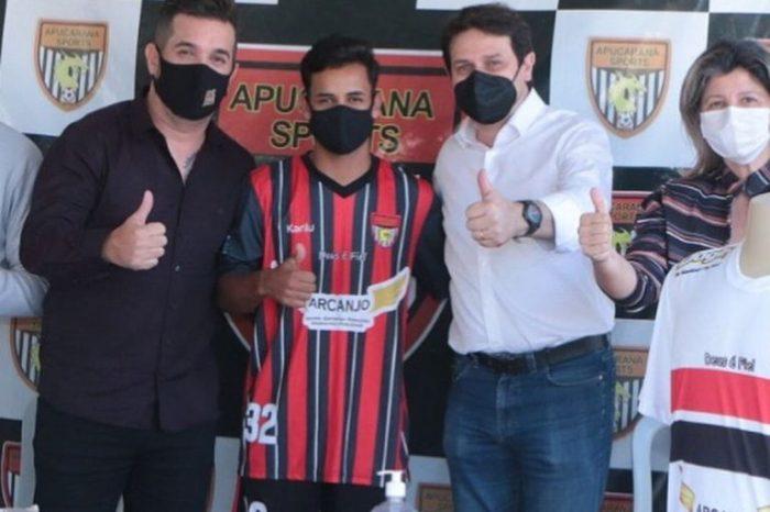 Jovem Monteirense é apresentado em clube profissional do Paraná
