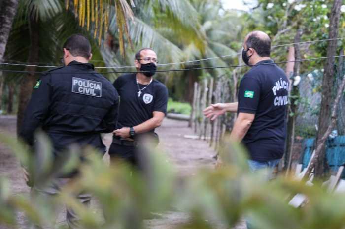 Polícia prende líderes de organização criminosa suspeitos de homicídios e tráfico, em Cabedelo