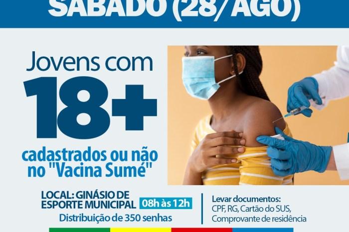 Equipe de saúde intensifica vacinação contra Covid-19 no município de Sumé