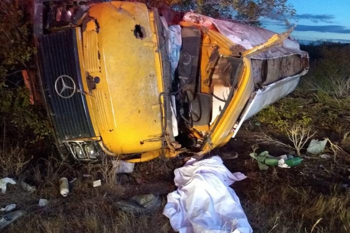 Após perder controle de veículo, caririzeiro morre em grave acidente na BR 412