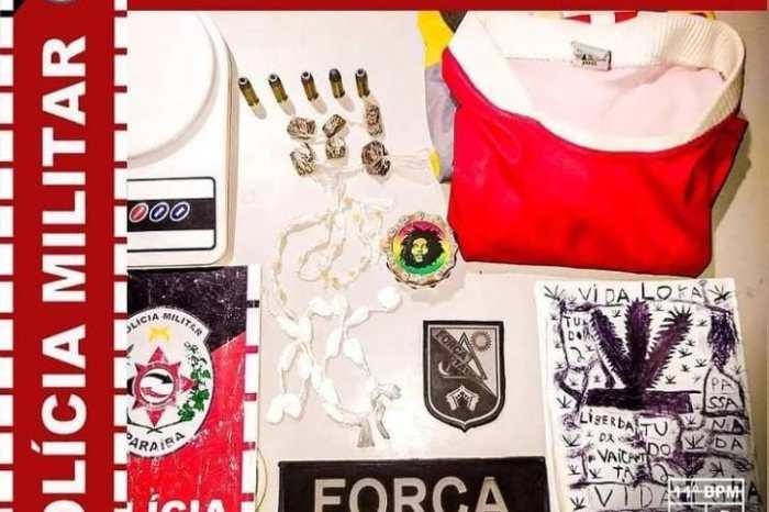 Polícia Militar faz apreensão de drogas durante operação no município de Prata