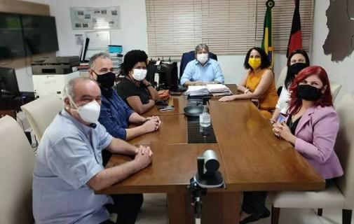 PC do B se reúne com João Azevedo e propõe Inácio Falcão para compor chapa majoritária