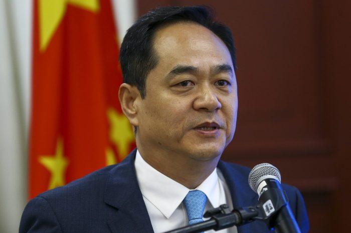 Após prisão de Jefferson, embaixador chinês publica: 'Lindo dia para todos'