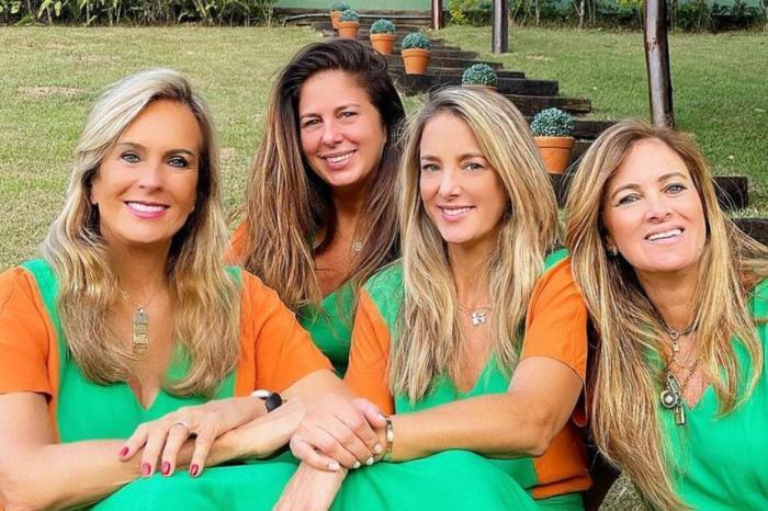 Ticiane Pinheiro reúne as mulheres da família na despedida de solteira da irmã