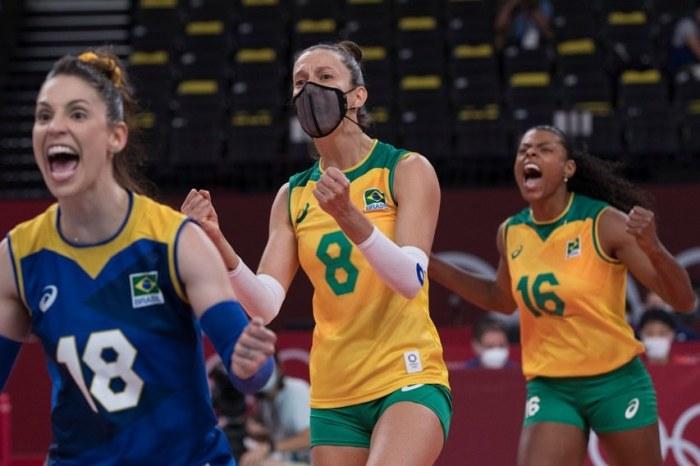 Brasil vence Comitê Russo de virada por 3 a 1 em Tóquio