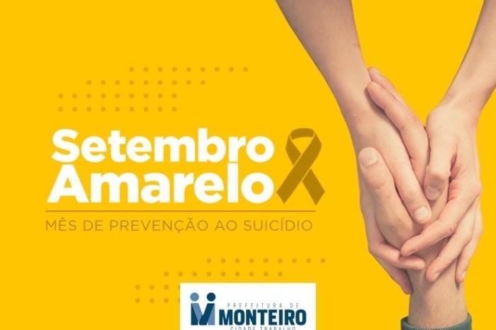 Secretaria de Saúde de Monteiro destaca a importância de discutir a saúde mental