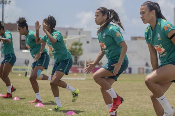 Seleção Feminina encerra preparação visando segundo jogo contra a Argentina, em João Pessoa