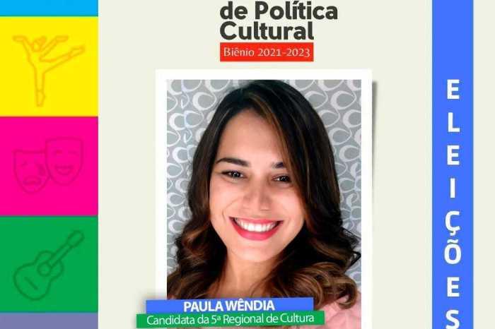 Paula Wêndia vence eleição para Conselho Estadual de Cultura do Cariri