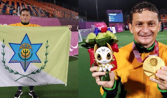 Ouro em Tóquio: preparador físico da Seleção Brasileira de futebol de 5 é natural de Boa Vista