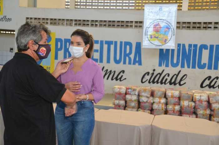Beneficiários do Programa Cesta Social agradecem e destacam o empenho e dedicação da Prefeita Anna Lorena