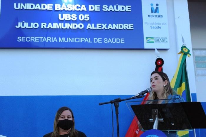 Comunidade do Mulungu comemora entrega das obras do PSF 05 em Monteiro