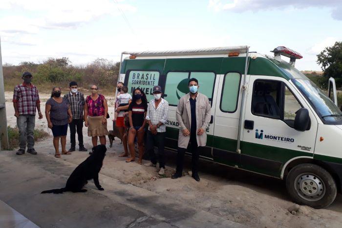 """MONTEIRO: Programa """"Mais Sorrisos no Campo"""" chega à comunidade do Sítio Jabitacá"""