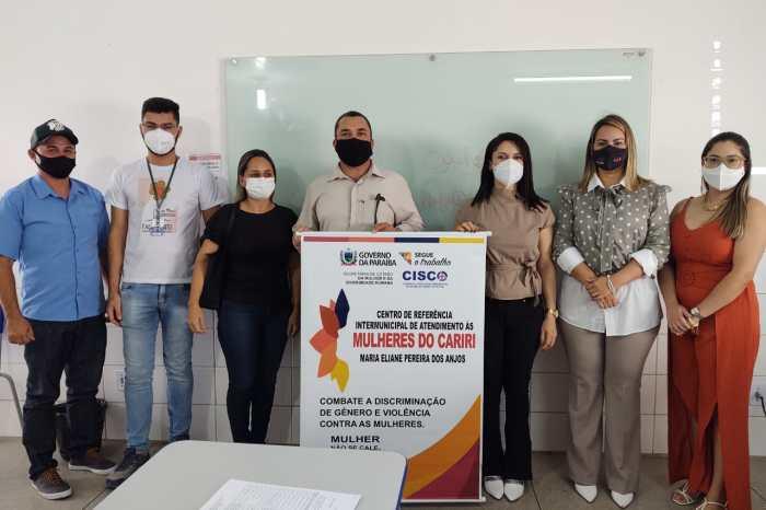Rede de Proteção e Atendimento a Mulher realiza reunião com CRAS e Secretaria em Monteiro